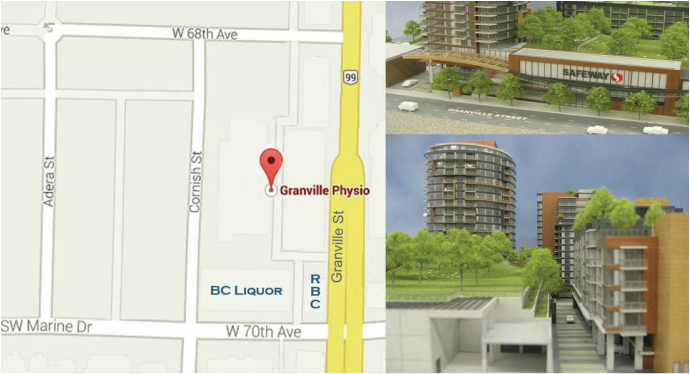 Directions to Granville Physiotherapy
